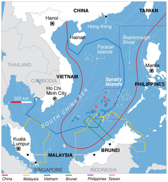 South-China-Sea-Disputes-and-Claims